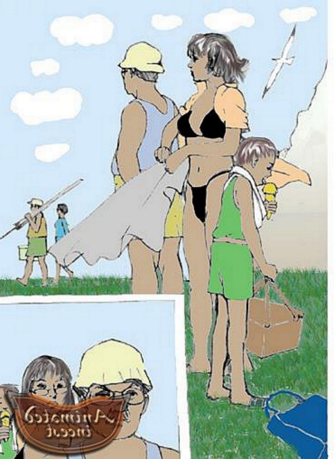 incest family vacation cartoon