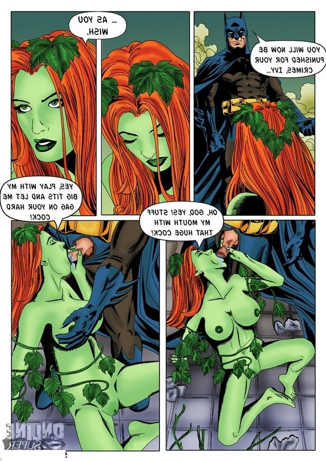 poison porn and Batman ivy