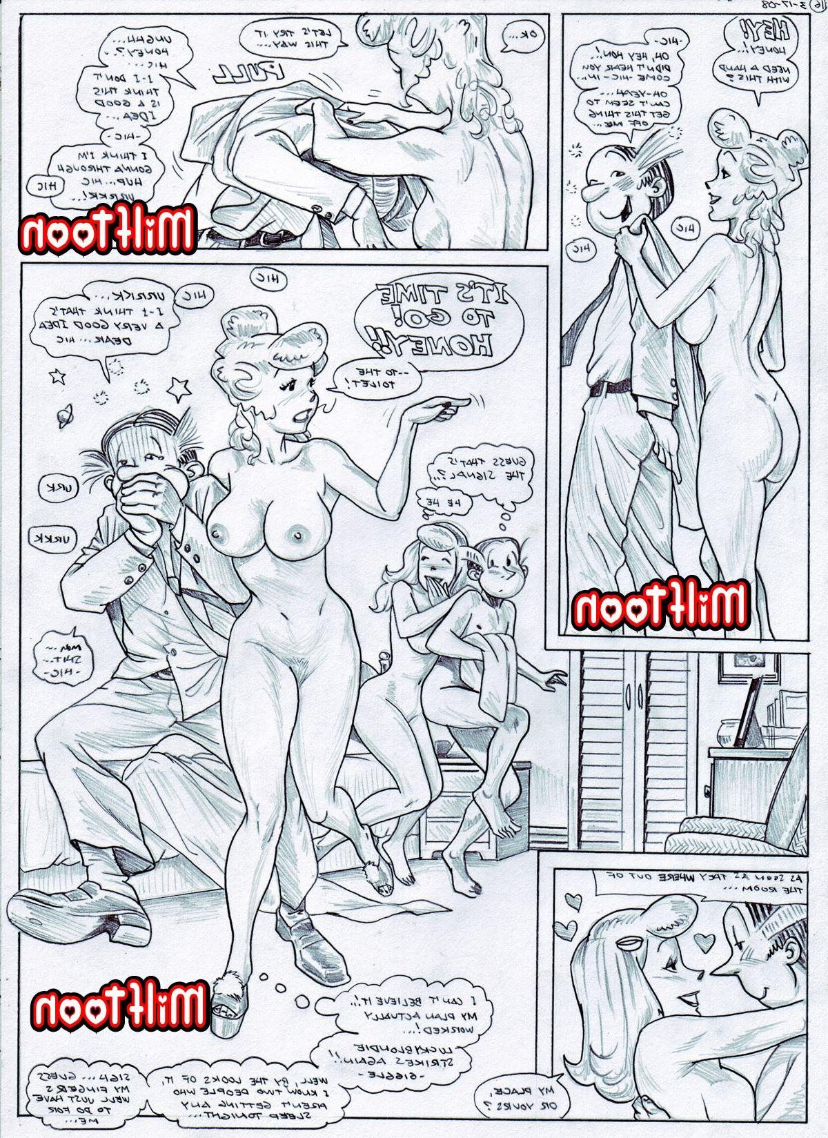 Blondie Cartoon Sex