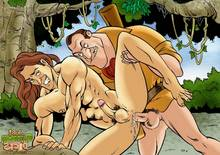 Cartoon Dicks -Tarzan 1