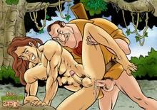Cartoon Dicks -Tarzan 1