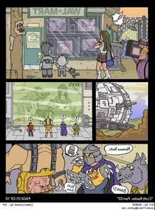 Cartoon XXX Croft Raider 2