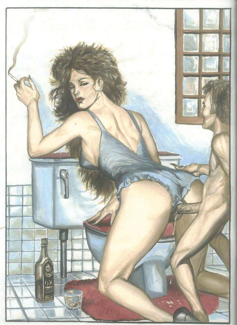vintage hot mom