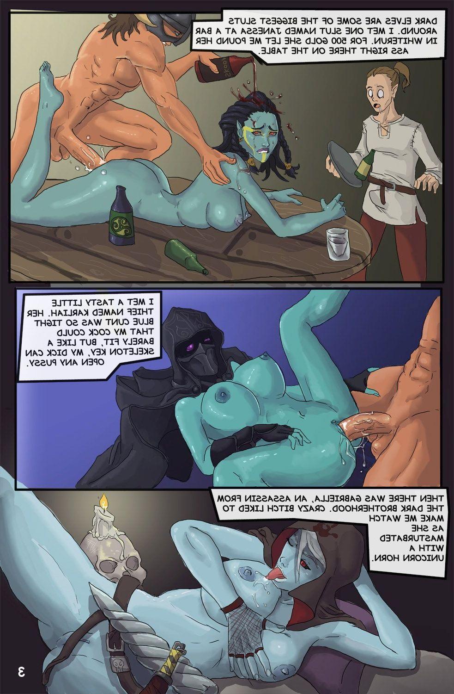skyrim sex comic
