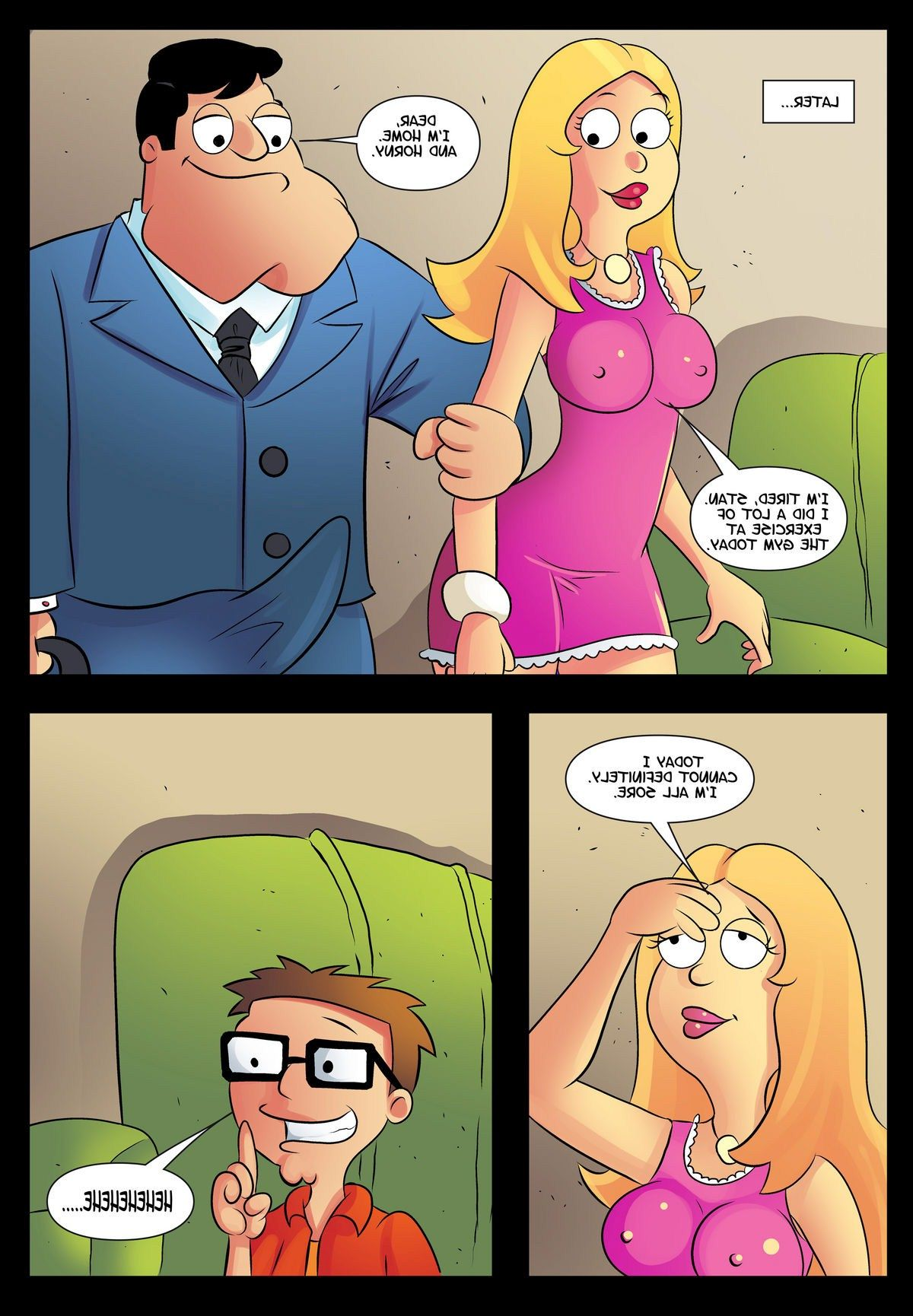 Sorry, that American dad sex doll lie