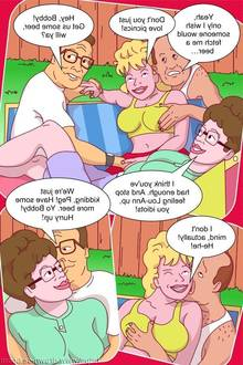 DRAWN SEX-KING OF THE HILL PORN