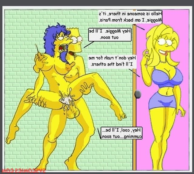 Simpsons porn fear comics