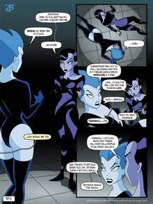 Inque and Livewire (Batman Beyond)