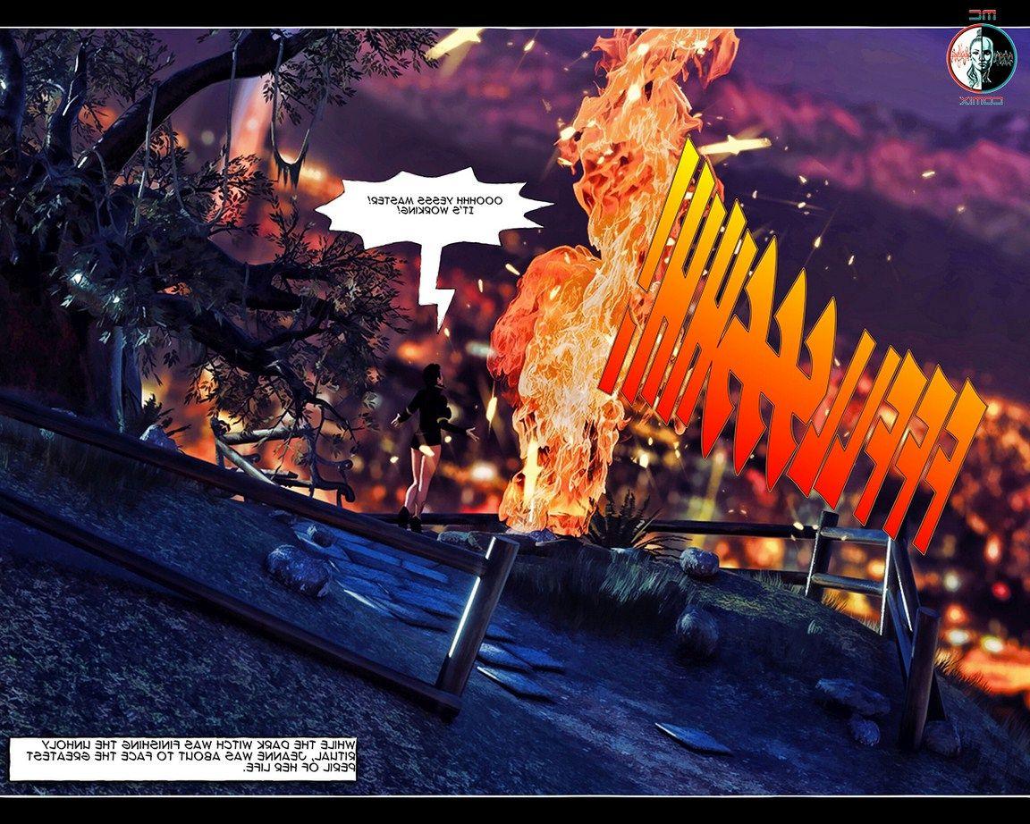 Jeanne Dark-A Lustful Samhain 6-7 » XXX Comics