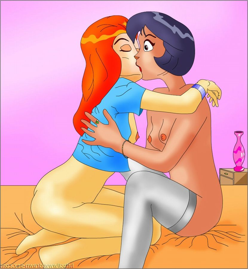 Totally spies cartoon porn
