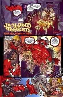 Manaworldcomics – Magic Mishap