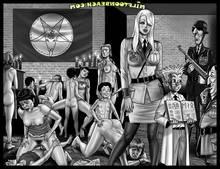 Milftoon Beach-Gitler Slave