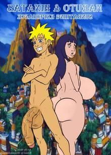 Naruto & Hinatas Sunbathing