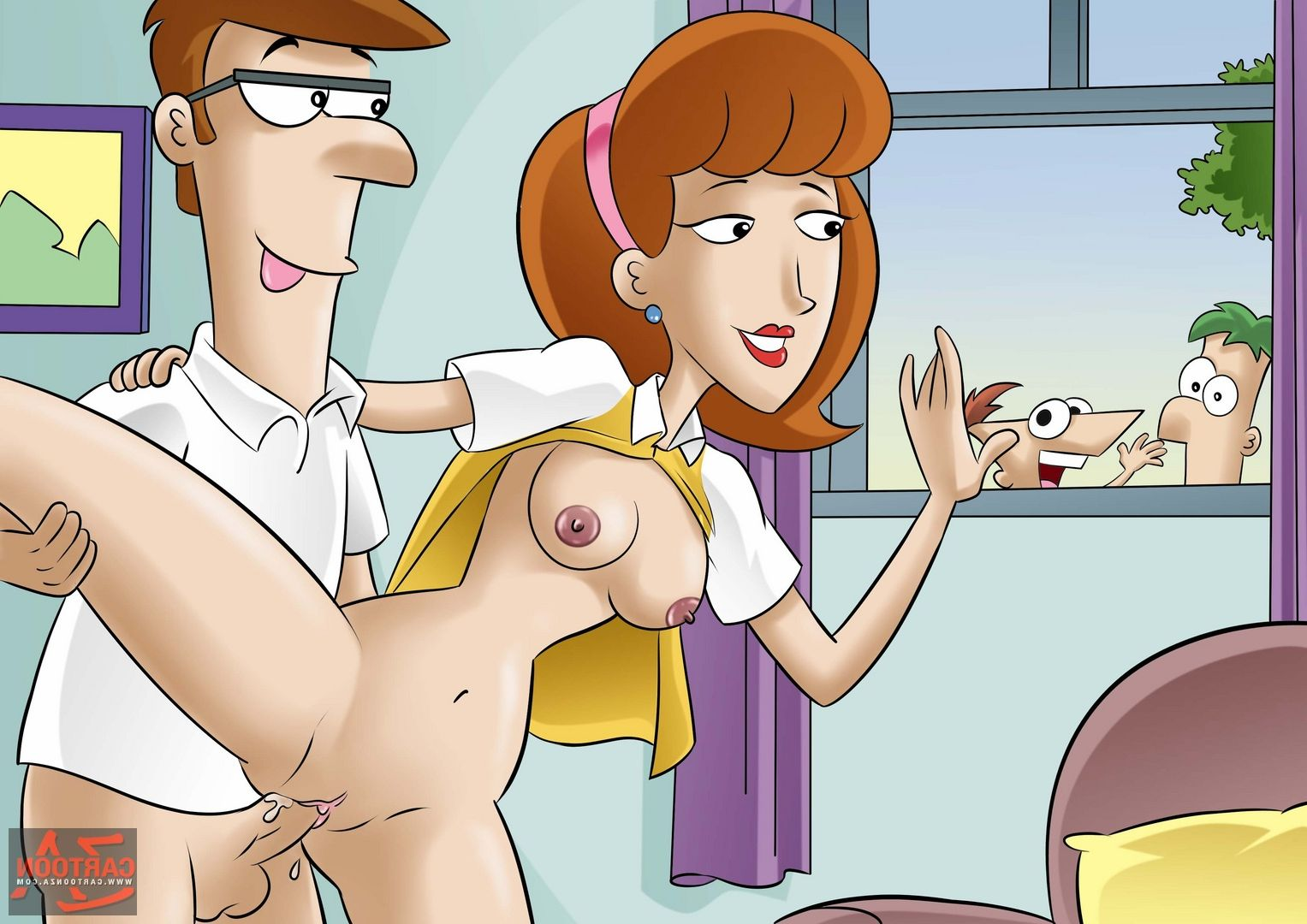 Apologise, but, Phineas and ferb porn ass consider, that