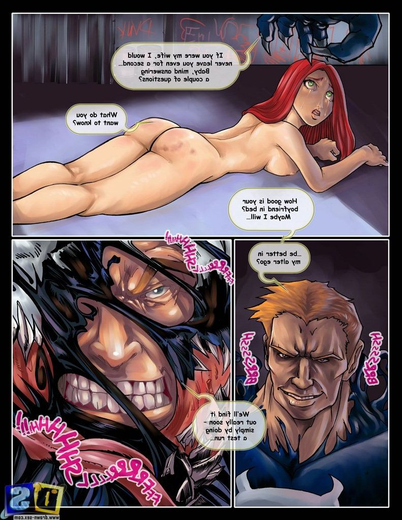 girl power porn comic Venom vs