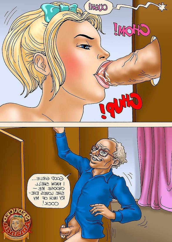 comics Amanda sex