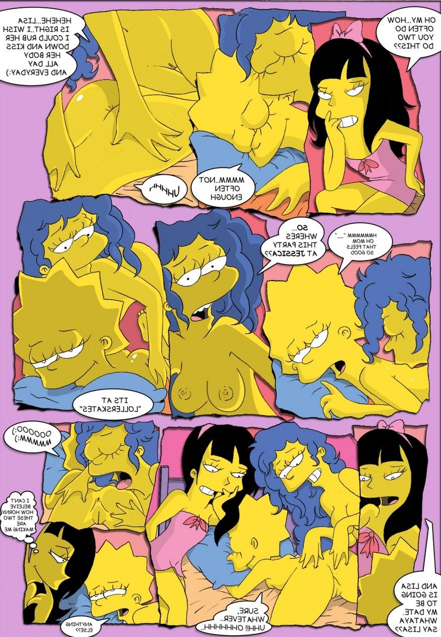 Porn simpson jessica and marge lisa