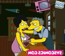 porn toons cartoon facial famous Simpsons