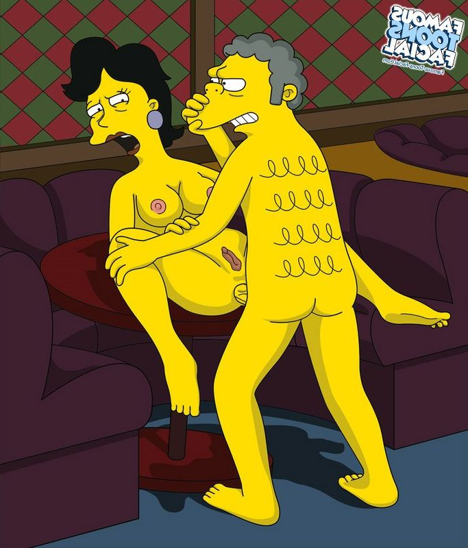 Famous cartoon porn simpsons
