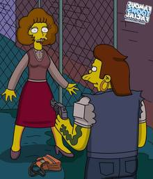 Simpsons – Snake And Maude