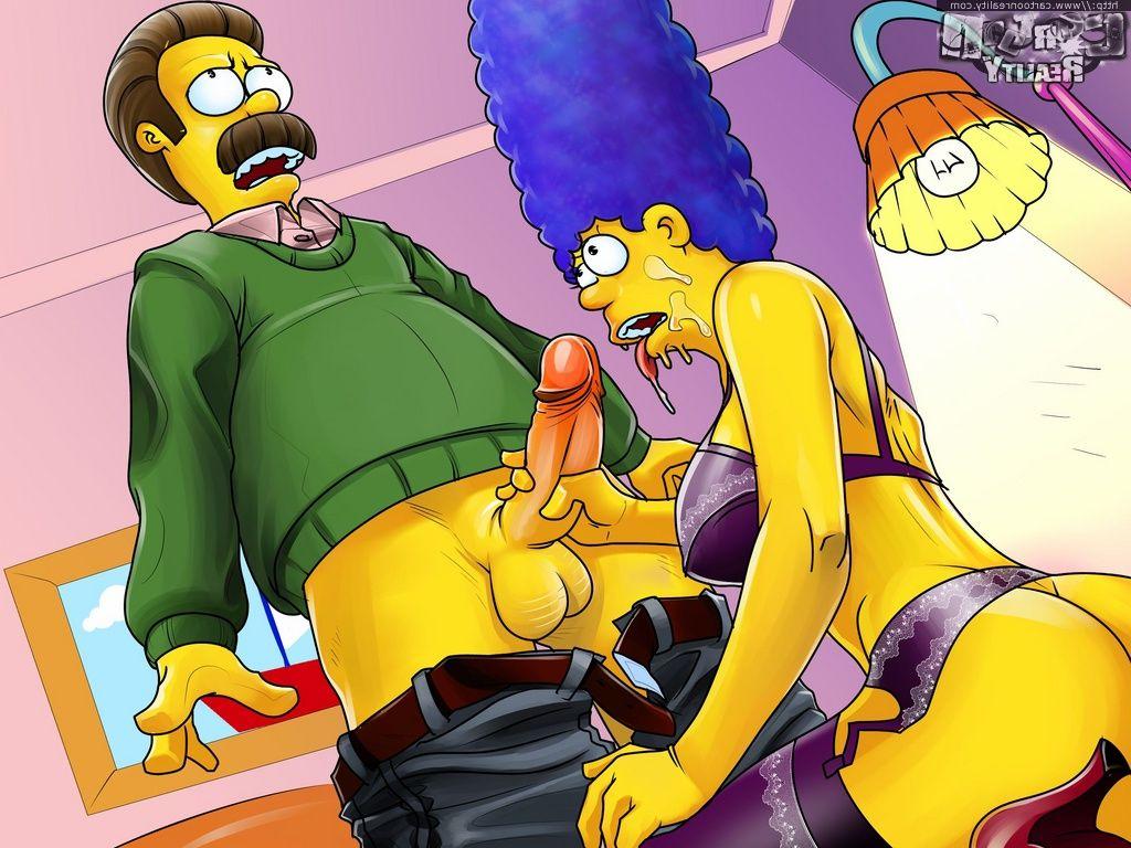 Simpsons meets flintstones