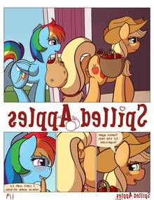 Spilled Apples (My Little Pony)