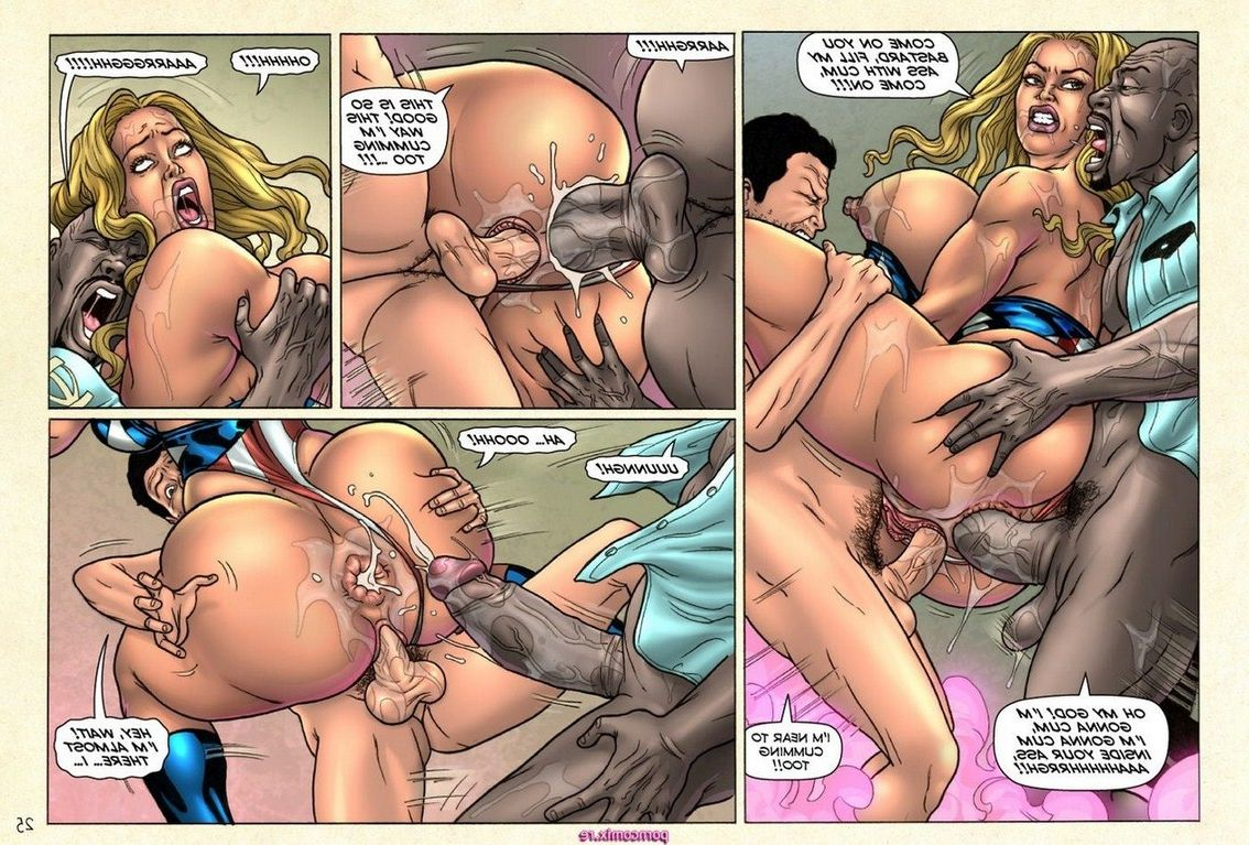 Superheroine xxx