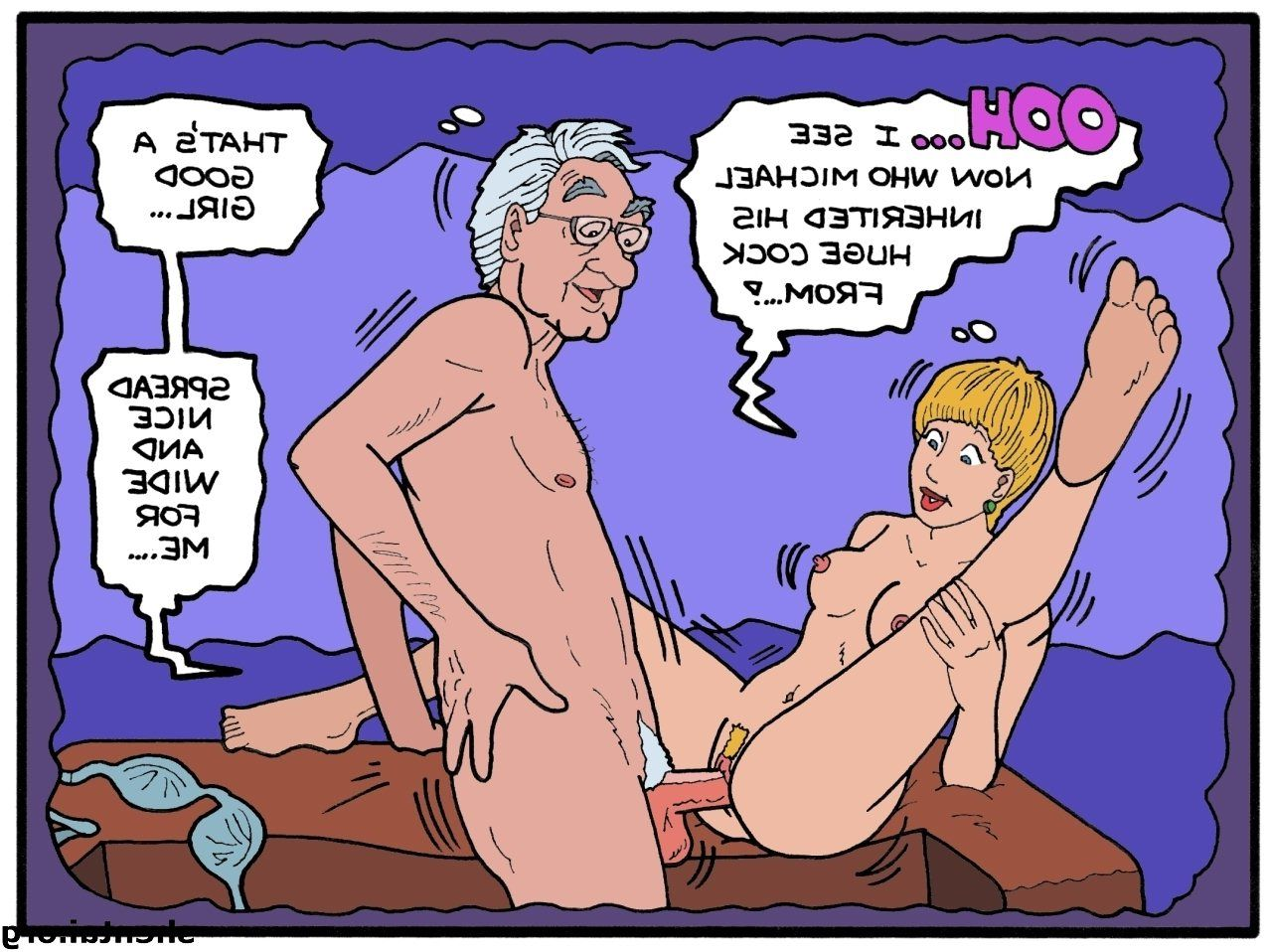 Cartoon sex parodys