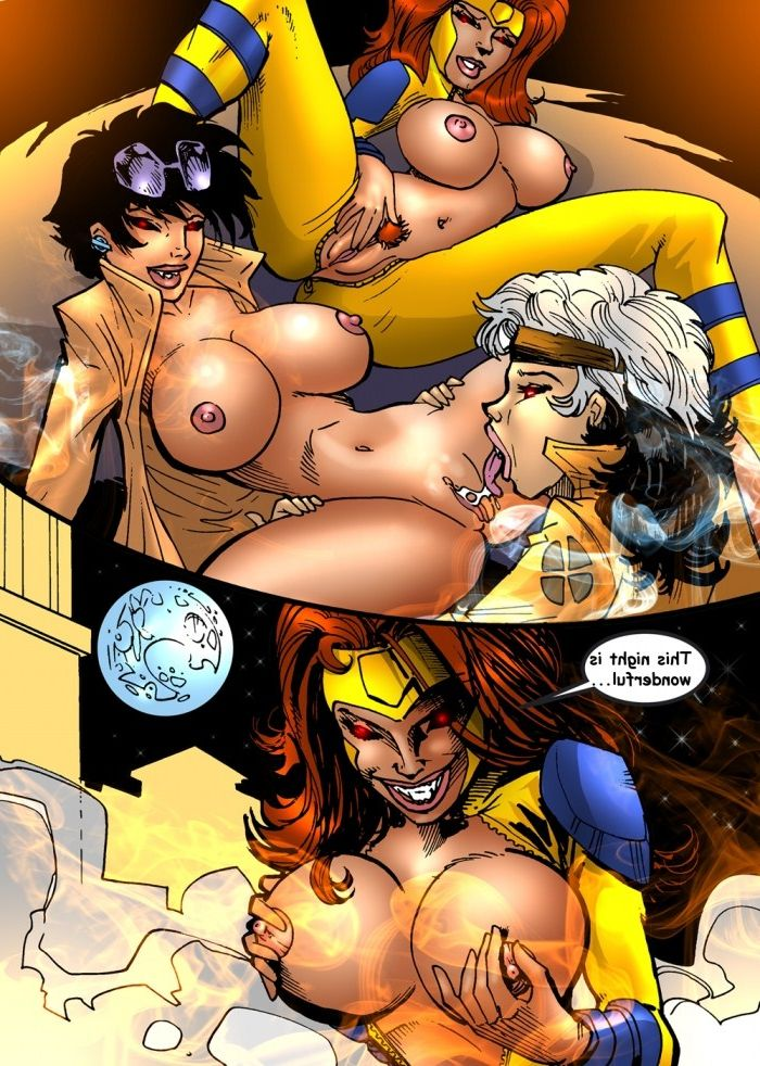 Never right Xmen XXX