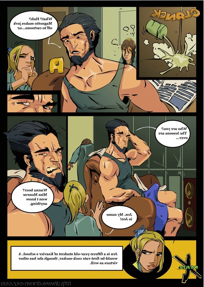 Free xmen hardcore cartoons